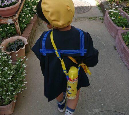 幼稚園へいくよ
